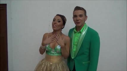 Dancing Stars - Мика Стоичкова минути преди началото на предаването 18.03.2014 г.