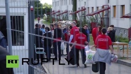 Германия: Саксония отвори вратите на университетско общежитие за търсещите убежище