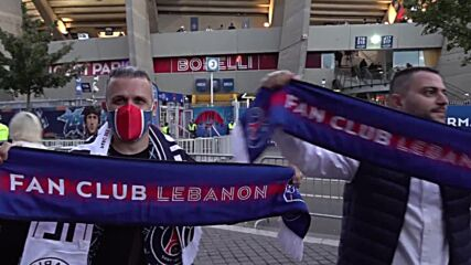 France: Excited fans file into stadium ahead of Messi's first goal for PSG