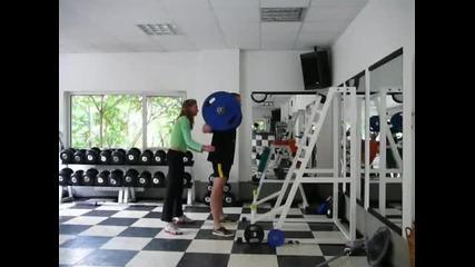 25 Squats at 100kg