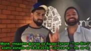 Барун, Акшай и Саная рекламират филма