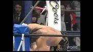 Hiroshi Tanahashi Vs. Shinsuke Nakamura - New Japan Pro Wrestling 02/15/09