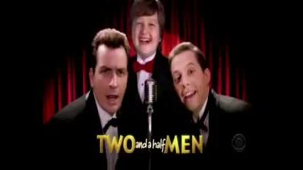 Двама мъже и половина начална песен :)