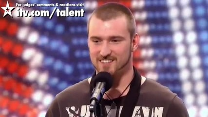 Момче вдига на крака цялата публика - Britain's Got Talent 2011