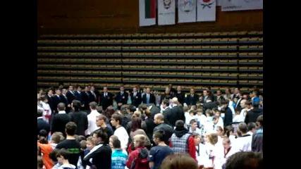 """Откриване 08.12.12 Зала Универсиада """"млади приятели на полицията"""""""