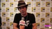 Нина Добрев, Пол Уесли и Иън Самърхолдър разказват за сезон 6 на Comic Con 2014