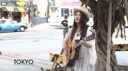 Yui in Okinawa street live