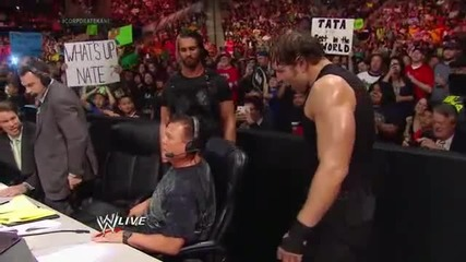 The Shield Triple Power Bombs Kane Raw, March 17, 2014