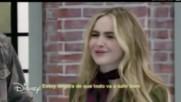 Soy Luna 2 - Сабрина Карпентър говори на пистата с Луна и Симон - епизод 58 + Превод