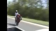 Луди мотористи и луди номера с мотори
