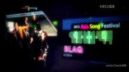(hd) Mblaq - It's war ~ 2012 Asia Song Festival (24.08.2012)