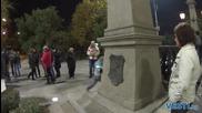 Полицаи блокираха Орлов мост
