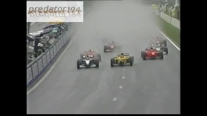 F1 1998 Рестартирането на съзтезанието и катастрофата на Мика Хакинен