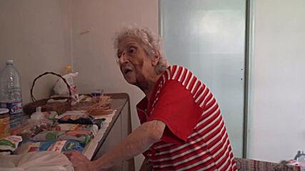Lebanon: 'Windows fell on me' - elderly woman recounts surviving Beirut blasts
