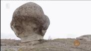 Главата на крокодила и Каменната гъба - скалните феномени край Златоград