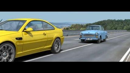 Реклама на Бтк аидиесел Bmw vs Trabant