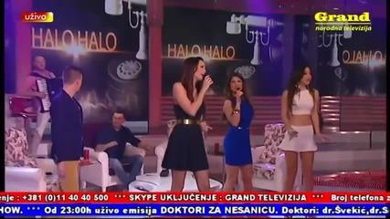 Katarina Grujic - Beograd - (LIVE) - Halo, Halo - (Tv Grand 2014)