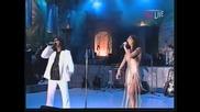 Ceca i Aca Lukas - Crni sneg - (LIVE) - (Marakana) - (TV Pink 2002)
