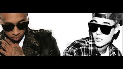 Премиера ! Justin Bieber ft. Tyga - Wait For A Minute