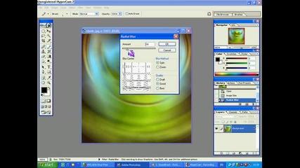 Как да размазваме някоя картинка и да и правим кристали с Photoshop7.0