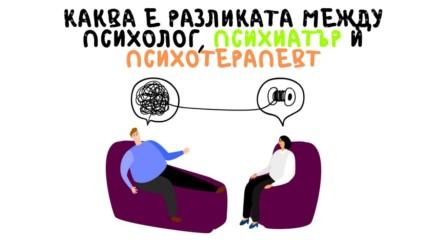Каква е разликата между психолог, психиатър и психотерапевт