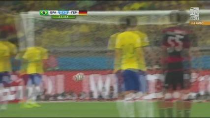 Световно първенство по футбол 2014 Бразилия - Германия - Първо полувреме Част 4/5