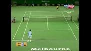 Roger Federer vs Novak Djokovic. Australian Open 2007