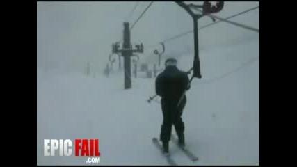 Потресаващ Ски Инцидент