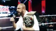 Pain V I I I - Triple H vs Roman Reigns Promo