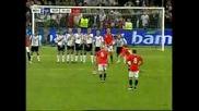 12.08.09 Норвегия 4:0 Шотландия *педерсен втори гол*