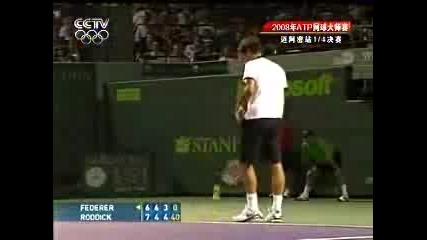 Federer Vs Roddick Miami 2008 Qf