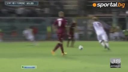Ливорно 0:2 Рома