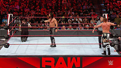 Seth Rollins & Murphy vs. Kevin Owens & Samoa Joe – Raw Tag Team Title Match: Raw, Jan. 27, 2020 (Full Match)