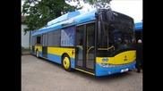 Новите тролеи в Плевен!!! Skoda Solaris 26tr