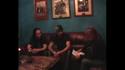 Disturbed Видео интервю Част 2