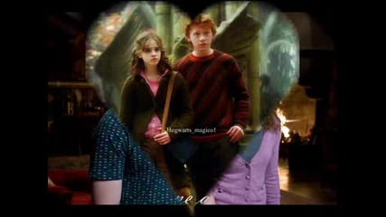 Hermione and Ron - Love
