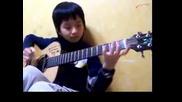 Деца Феномени - 11 Без думи - изпълнение на китара