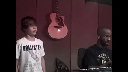 Watch this video in a new windowjustin singing You Got It Bad with B. Cox