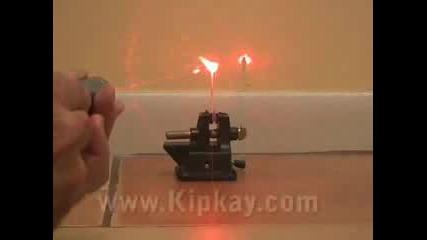 Как Да Направим Мощен Лазер