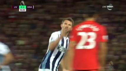 """МакОули наказа грешка на Ливърпул и намали на """"Анфийлд"""""""