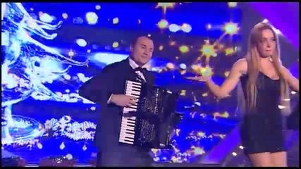 Jelena Vuckovic - Hajde da poludimo - GNV - (TV Grand 01.01.2015.)