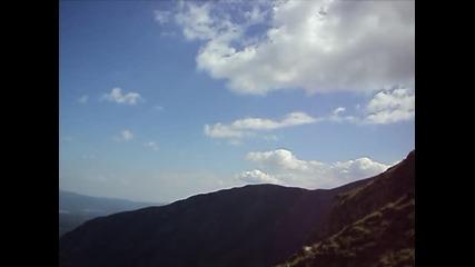 Водопад Райското пръскало , хижа Рай , Връх Ботев , България