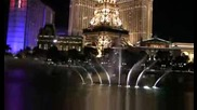 Bellagio Fountain in Hd My heart will go on