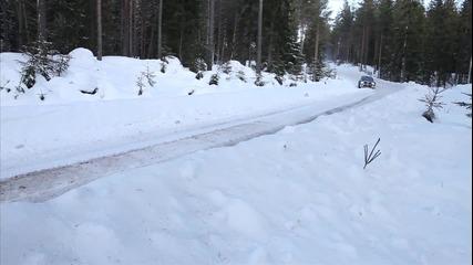 Ken Block: Първи тест с Ford Fiesta за Рали Швеция