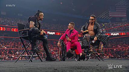 """Damian Priest lays down a challenge on """"Miz TV"""": Raw, Aug. 2, 2021"""