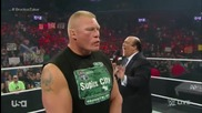 Brock Lesnar and Paul Heyman Segment + Bo Dallas