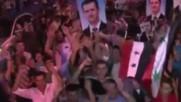 Песен в подкрепа на Башар ал Асад: Терористите ще загубят