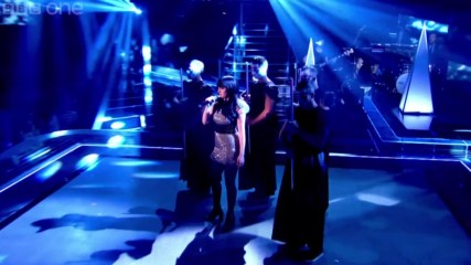 Christina Marie performs Bang Bang - The Voice Uk 2014- The Live Semi Finals - Bbc One