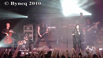 Tarja - I walk alone 02.10.2010 Live