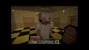 #6 Minecraft [в изоставена мина #1] survival с vencopenco и theddy
